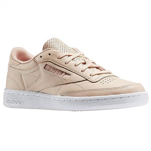 Reebok Club C 85 Nt Mujer Zapatillas Rosa: Amazon.es: Zapatos y complementos
