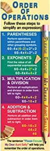 McDonald Publishing Order of Operations Colossal Poster (McV1650)