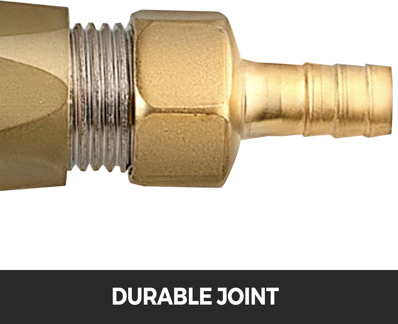 Mophorn Pulv/érisateur de Ciment pour B/éton Mortier et Pl/âtre /équip/é dun pulv/érisateur de mortier /à 4 buses