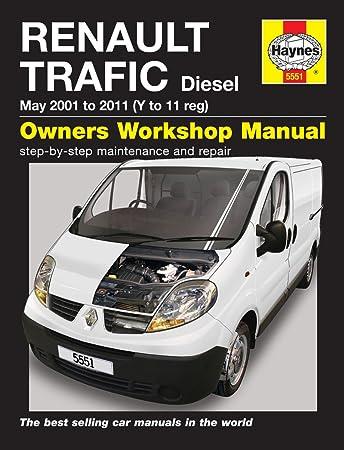 renault trafic repair manual haynes manual service manual workshop rh amazon co uk Renault Trafic Space Renault Trafic Dimensions