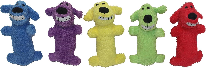 Pet Supplies : Pet Squeak Toys : Multipet International Original Loofa Dog Mini 6-Inch Dog Toy (Assorted colors) :
