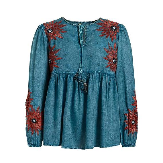 Khujo Damen Langarmshirt Foluke 1012SH183