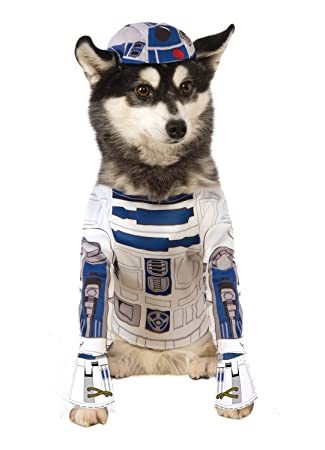 Disney Star Wars R2 D2 Robot Dog Fancy Dress Halloween Carnival
