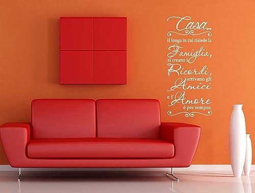 Adesivi Murali Frase Famiglia Scritte Sui Muri Decorazioni