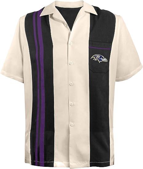 NFL BALTIMORE RAVENS camisa de piezas de bolos para hombre, 3 x -Large, Negro: Amazon.es: Deportes y aire libre