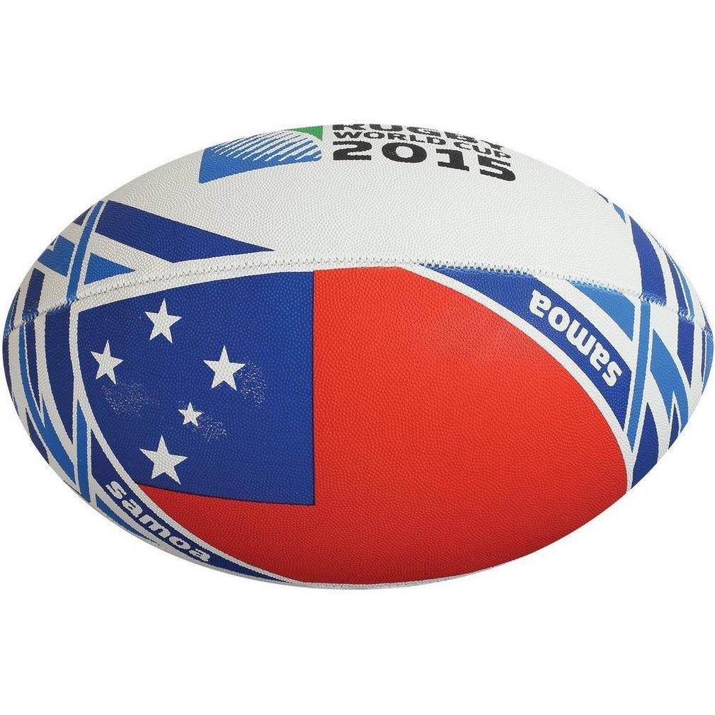 GILBERT RWC 2015 Bandiera Samoa Pallone da Rugby Mini, Mini