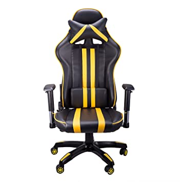 CO Z Pro Racing Gaming Chairs Cushion Ergonomic Adults High Back Support PC  Computer Wide