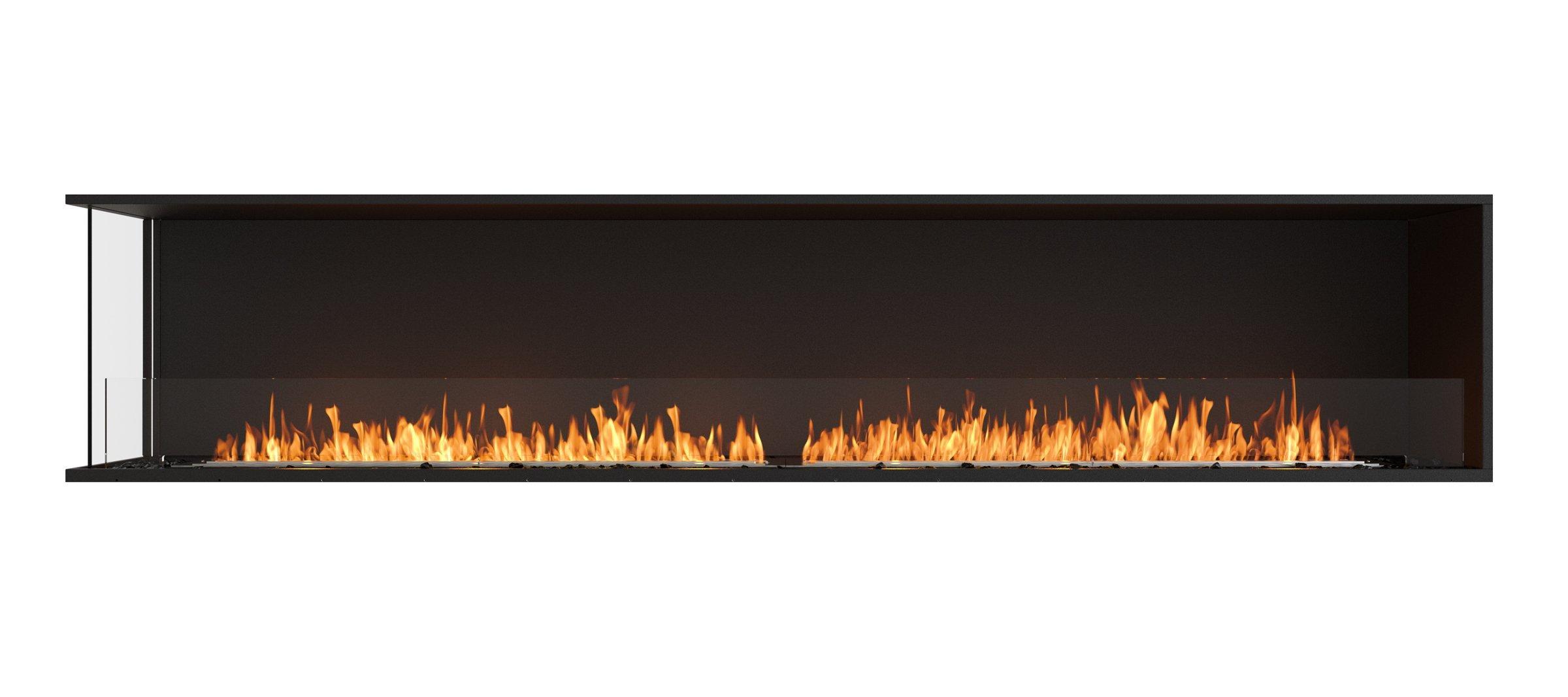 EcoSmart Fire ESF.FX.104LC Flex Left Corner Firebox Insert, Black by EcoSmart Fire