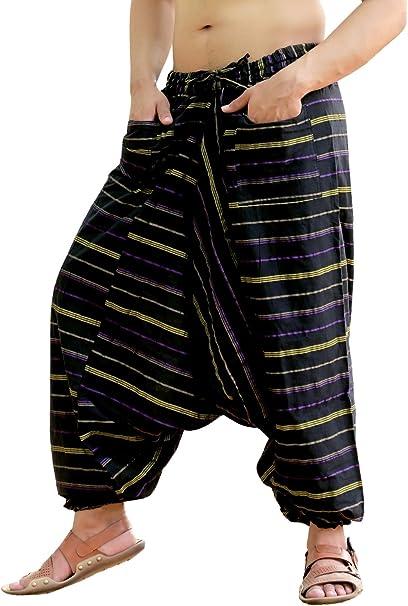 Amazon.com: Sarjana Handicrafts Harem Genie - Pantalones ...