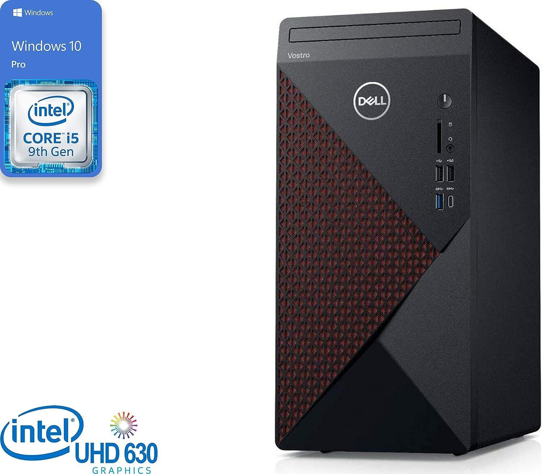 Dell Vostro 5090 Desktop, Intel Core i5-9400 Upto 4.1GHz, 16GB RAM, 512GB NVMe SSD + 500GB HDD, DVDRW, HDMI, DisplayPort, Card Reader, Wi-Fi, Bluetooth, Windows 10 Pro