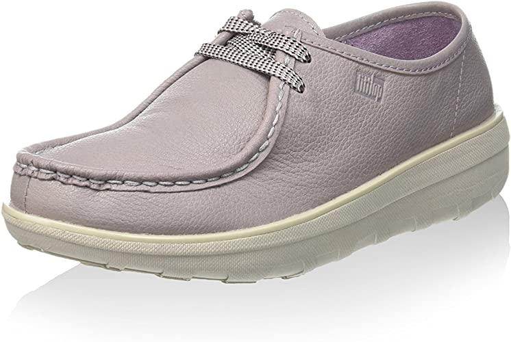 FitflopLoaff Lace-up Moc - Zapatos de Vestir mujer, color Rosa ...
