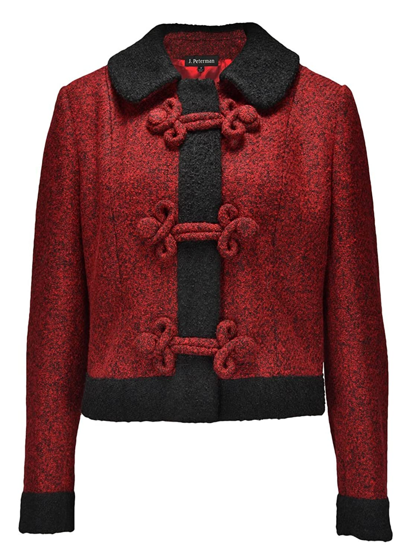 1950s Jackets and Coats | Swing, Pin Up, Rockabilly Frog Closure Jacket $194.35 AT vintagedancer.com