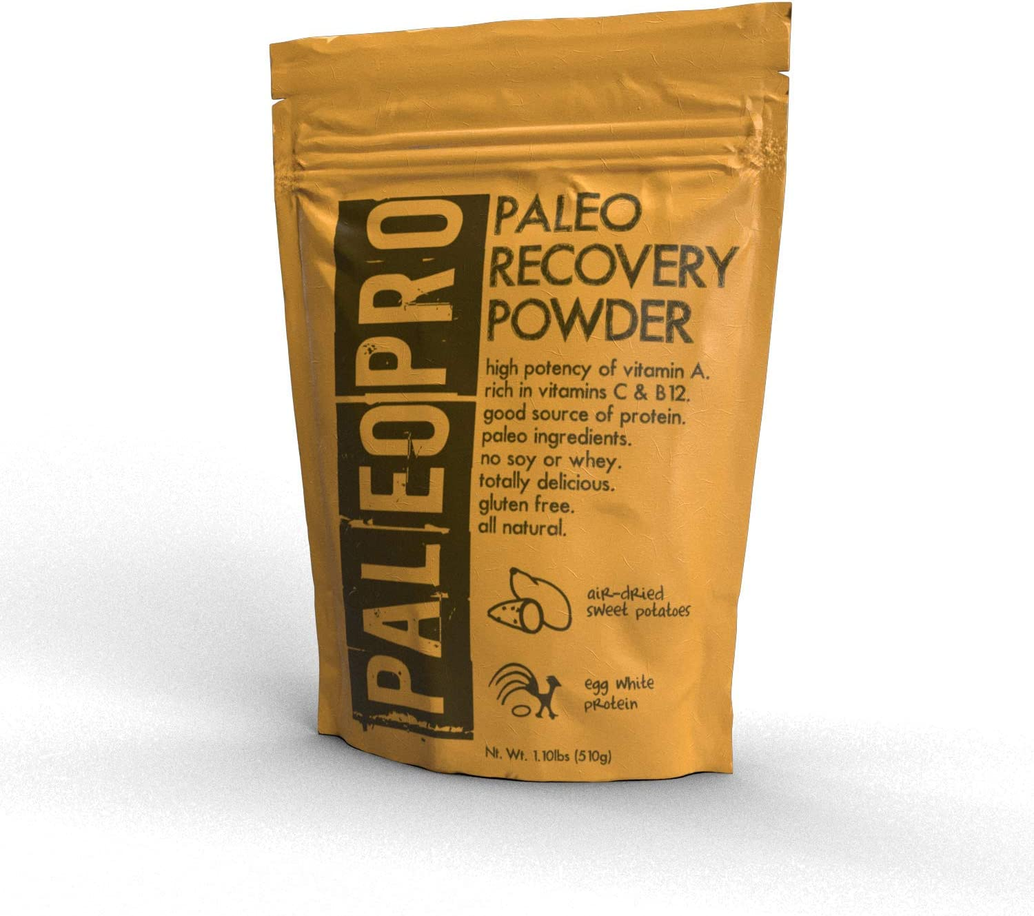 PaleoPro – Paleo Recovery Powder All Natural No Soy No Whey Gluten Free Paleo Diet 1.1lb 509g – Sweet Potato