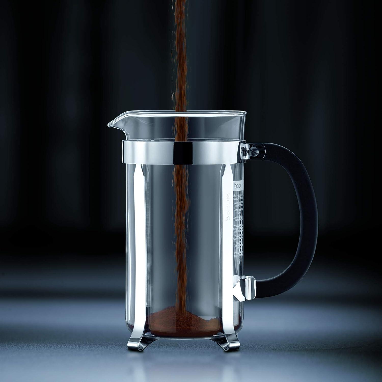 Bodum - 1908-01 - Java - Cafetera 8 Tazas - 1.0 l - Color Negro ...