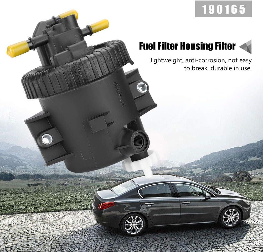 Gorgeri Kraftstofffilter Kraftstofffiltergeh/äuse f/ür P EUGEOT 206 306 307 2.0 HDi