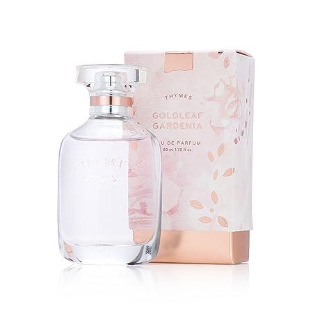 Thymes – Goldleaf Gardenia Eau de Parfum – Light Floral Scented Perfume – 1.75 oz