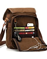MiCoolker Small Simple Messenger Bag Canvas Crossbody Shoulder Bags Travel Purse