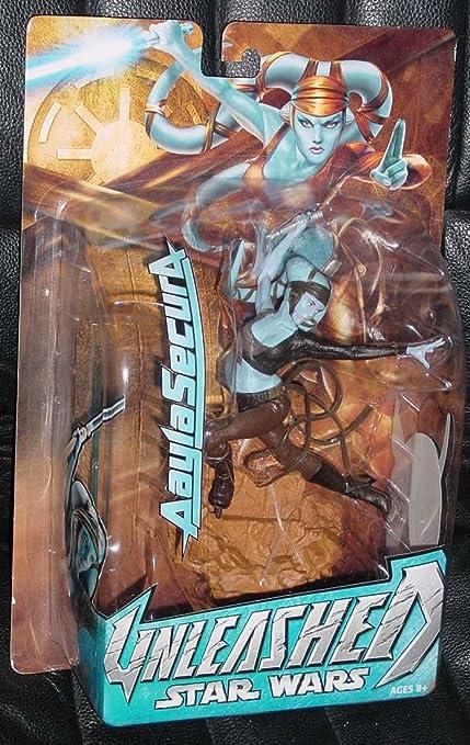 Star Wars Unleashed Aayla Secura Action Figure Hasbro 1003033