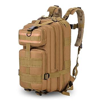 da8d99eab0 Sac à dos Tactique 35L Multifonction Militaire étanche nylon pour  l'extérieur Camping Randonnée voyage