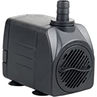 Pawfly 400 GPH Submersible Pump UL400 Quiet Indoor Outdoor Water Pump for Fish Tank Garden Fountain Pool Aquarium with 6ft UL Certification Cord