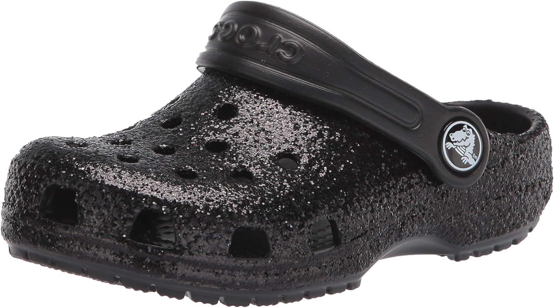Crocs Unisex-Child Kids' Clog Rapid rise Glitter Max 79% OFF Classic