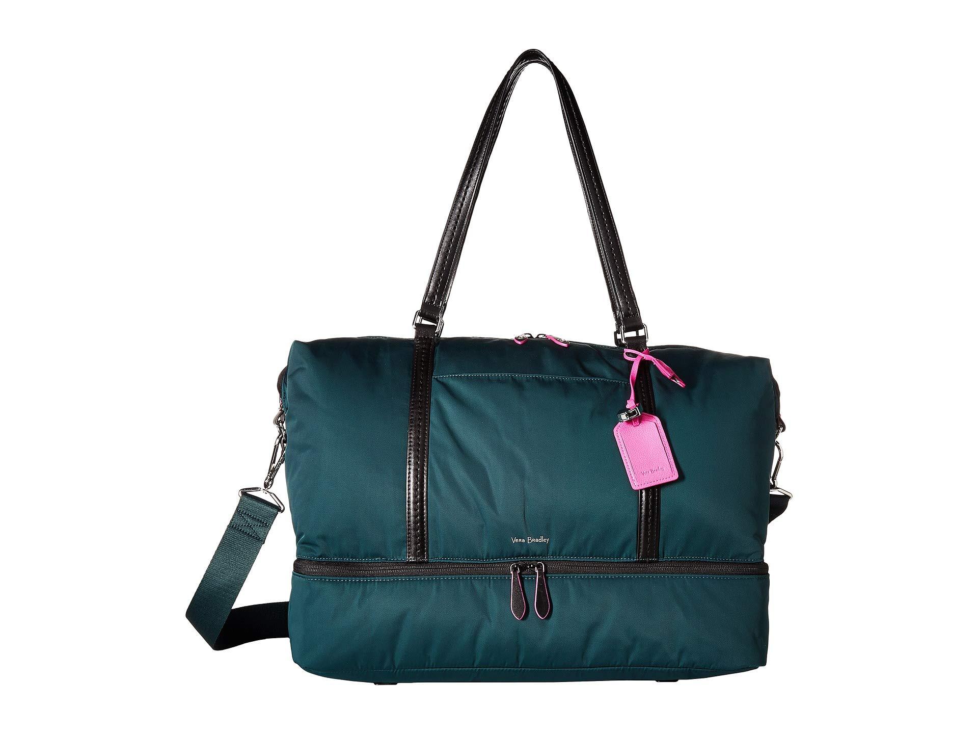 Vera Bradley Women's Midtown Travel Bag Woodland Green One Size