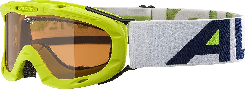 Alpina Ruby S - Gafas infantiles de esquí (talla única)