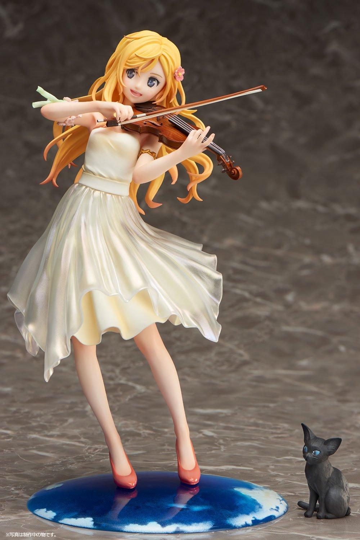 Your Lie in April Statue 1/8 Kaori Miyazono Dress Version 20 cm Aniplex