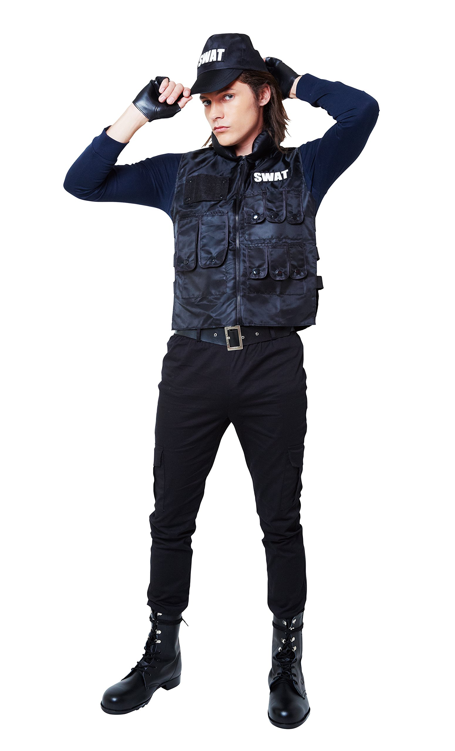 Magical SWAT costume men
