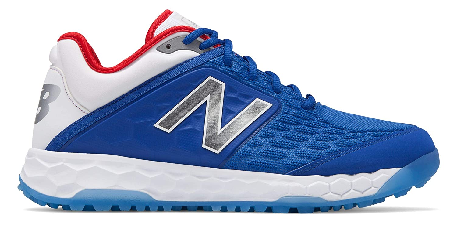[New Balance(ニューバランス)] 靴シューズ メンズ野球 Fresh Foam 3000v4 V monos! Playoff Pack B07JB9Y9J6 25.5 cm|Royal Blue with White Royal Blue with White 25.5 cm