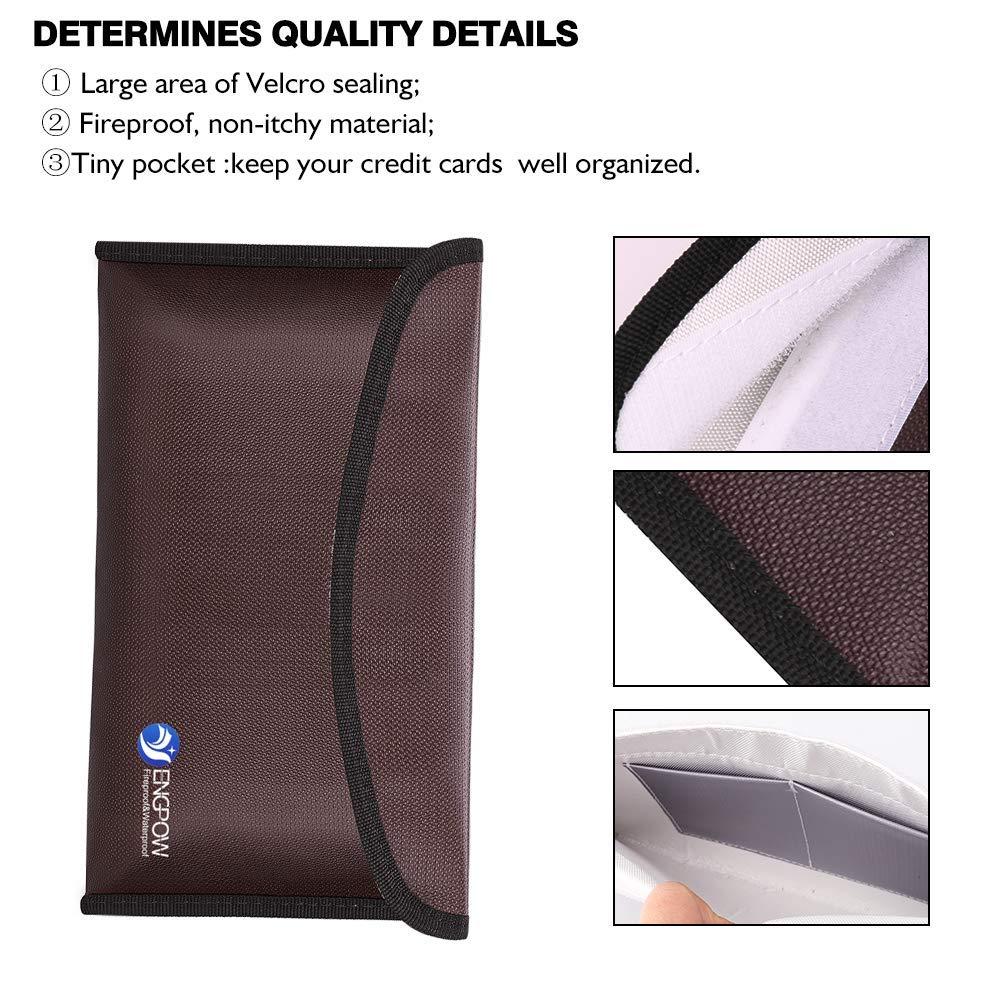 Fireproof Envelope Safe Bag 10.2\