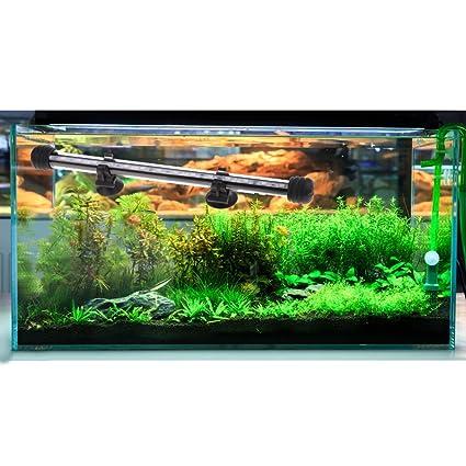 Baoblaze Acuario LED Pecera Luz Sumergible Complimentos Iluminación Duradero Cómodo - Luz Azul - 28cm: Amazon.es: Jardín