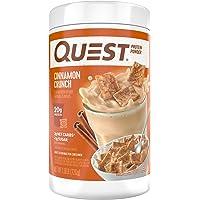 Quest Protein Powder Quest Protein Powder Quest Protein Powder, Cinnamon Crunch, 1.6lb 1.6 Pound