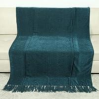 Azzarro Polyester Sofa Throws for Sofas, Standard, Dark Green