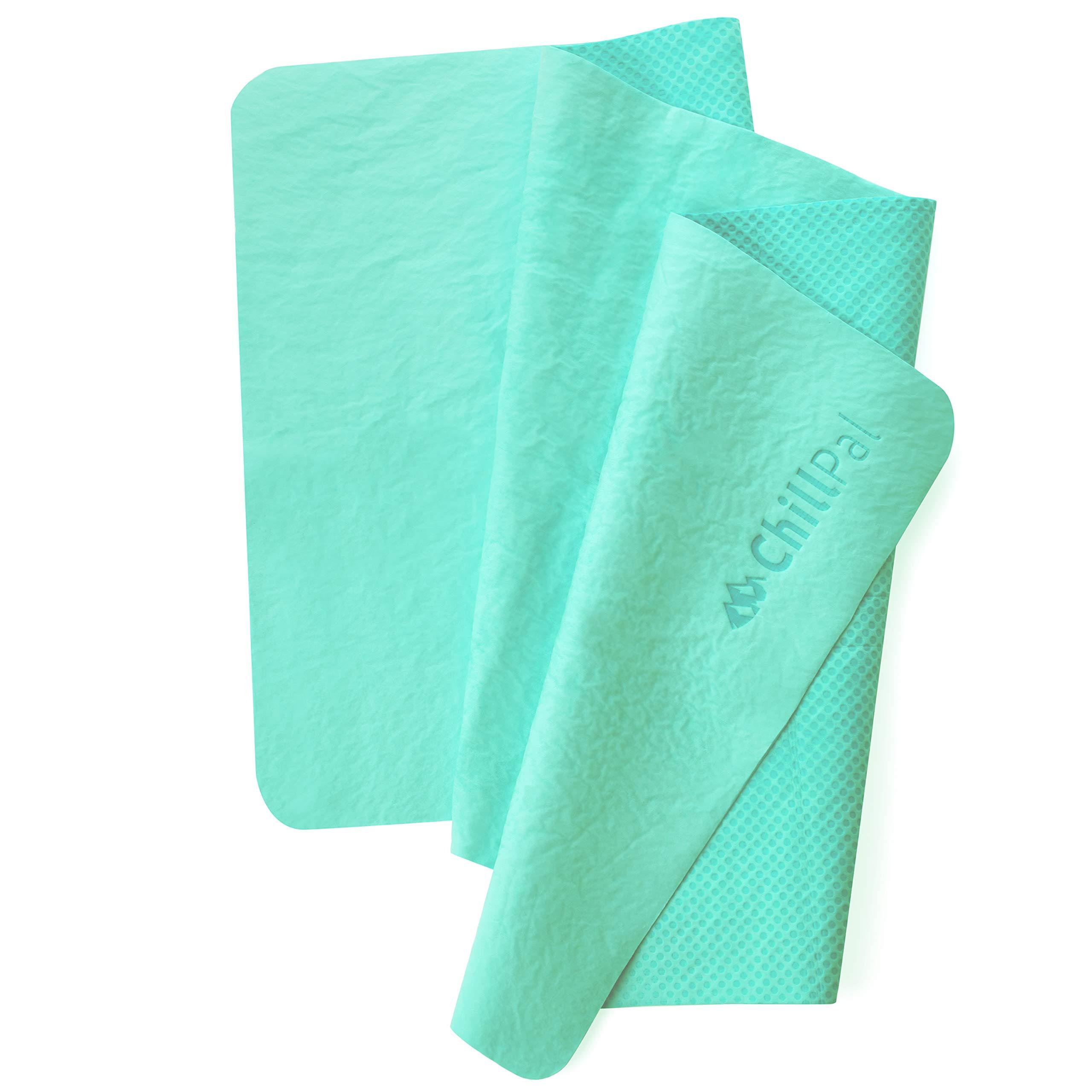 Chill Pal PVA Cooling Towel (Aqua Blue) by Chill Pal