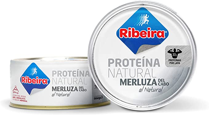 Ribeira - Merluza Natural - 2 x 160g