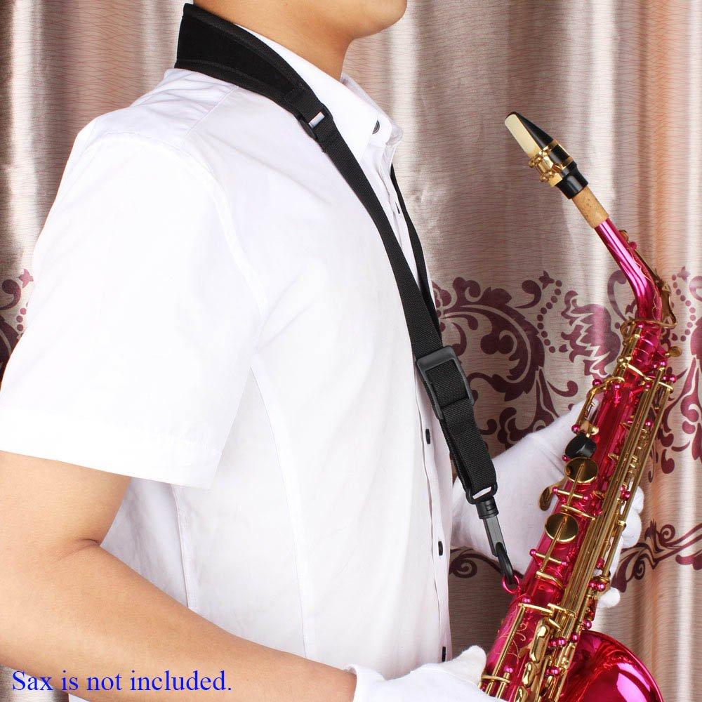 ammoon Correa de saxo Ajustable de Saxofón Sax para el cuello de ...