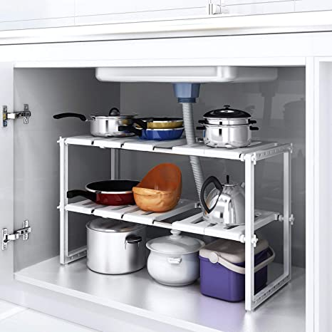 Küche Küchenregal Unterschrankregal Spülbeckenunterschrank Teleskopischen Regal