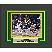 $189 » Framed Autographed/Signed Gary Payton Seattle Supersonics 16x20 Basketball Photo Fanatics COA