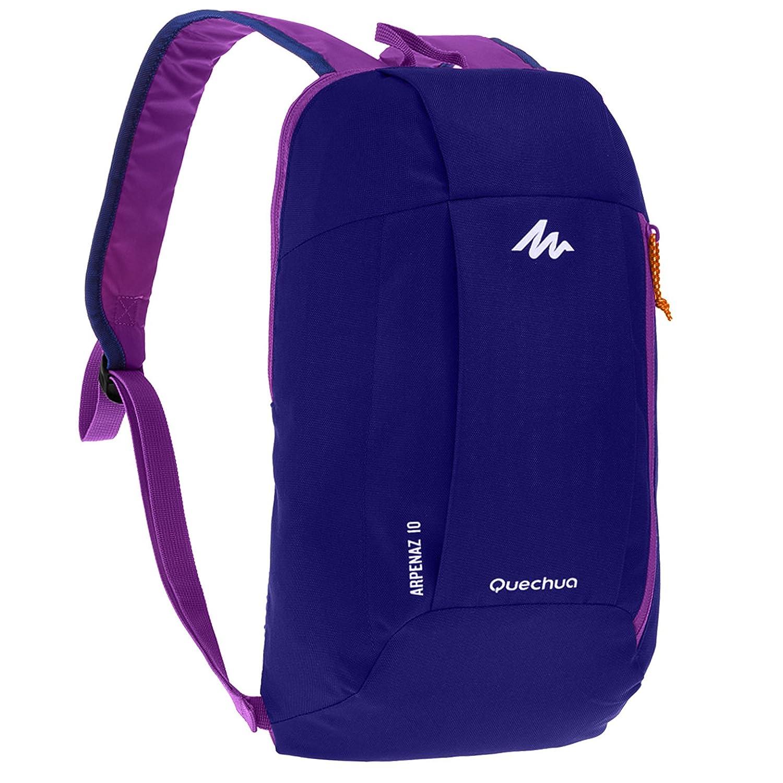 016b32223c Quechua 10 Ltr Nylon Purple Trekking Backpack  Amazon.in  Bags ...