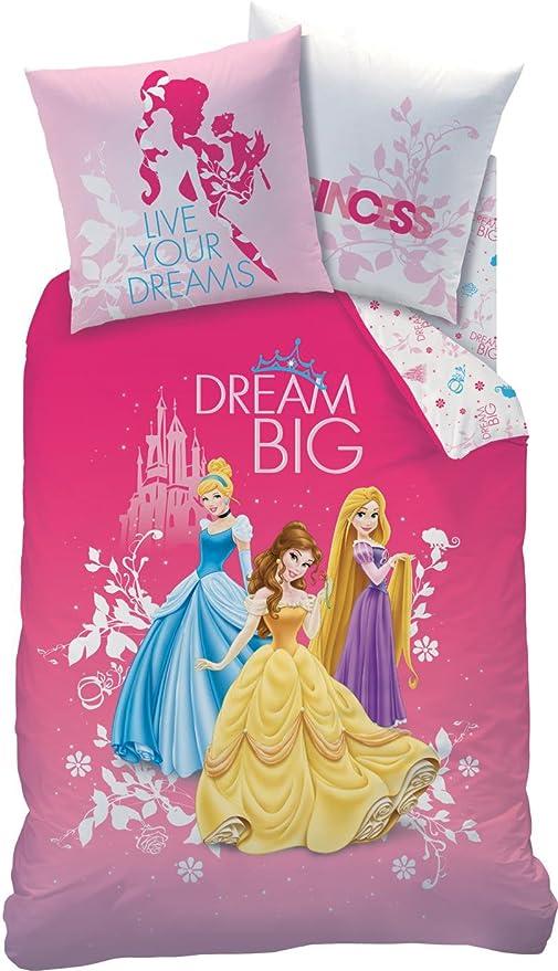Copripiumino Principesse.Parure Da Letto Principesse Disney Springtime 100 Cotone