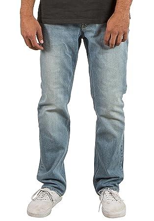Volcom Solver - Pantalones Vaqueros Hombre: Amazon.es ...
