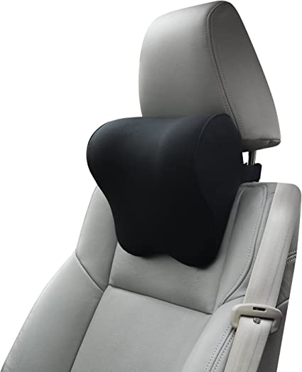 Dreamer Car Pillow for Driving Seat with Adjustable Strap - Excellent for Neck Pain