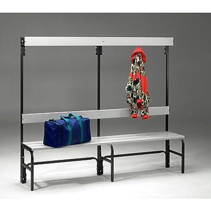 Vestuario Banco de acero para salas húmedas - HXT 1600 x 335 ...