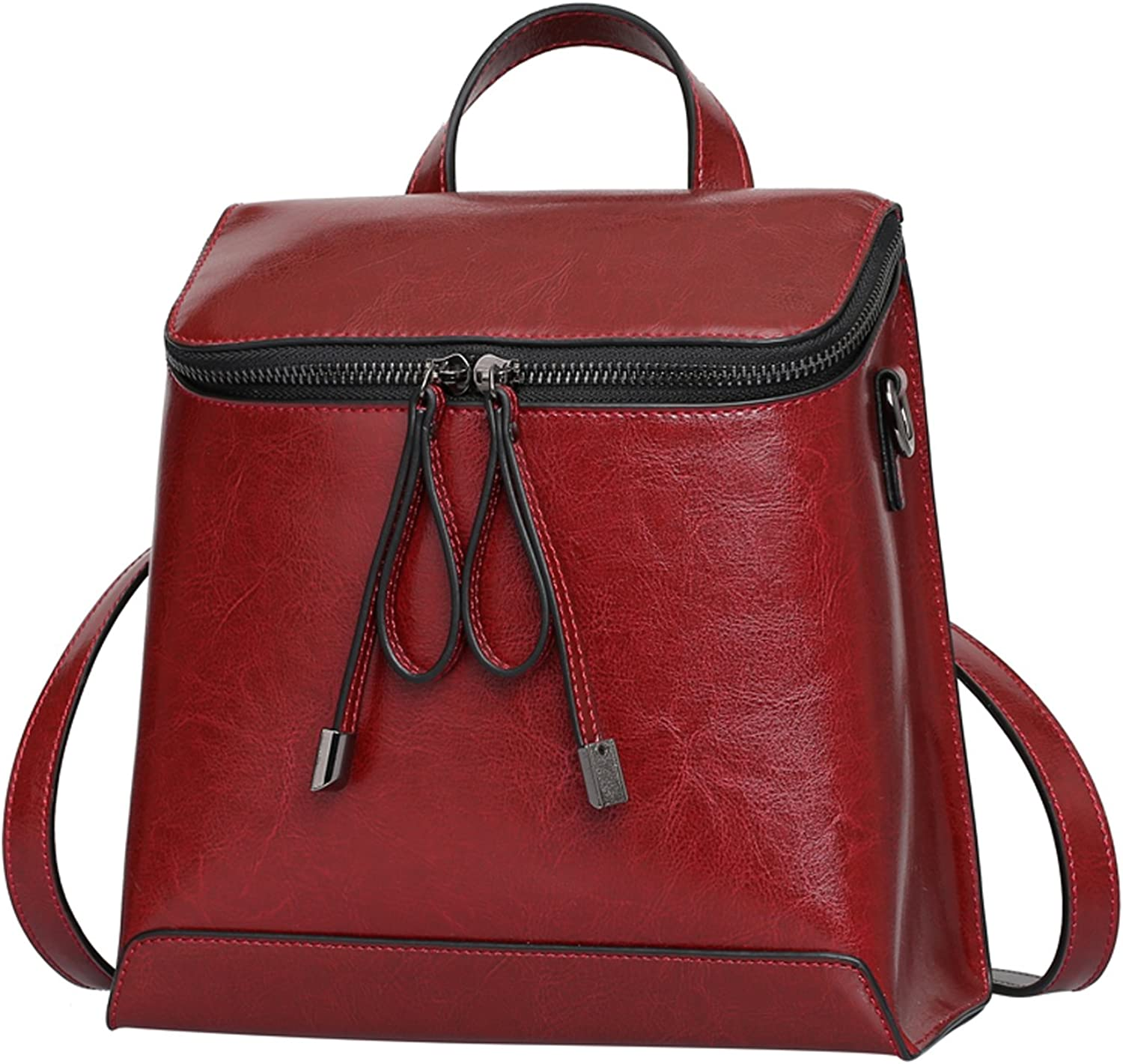 Weidu Leather Backpack For Women Fashion Lady Backpack And Travel School Bags