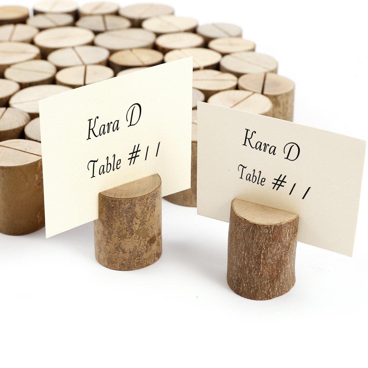 Holz Namenskarten