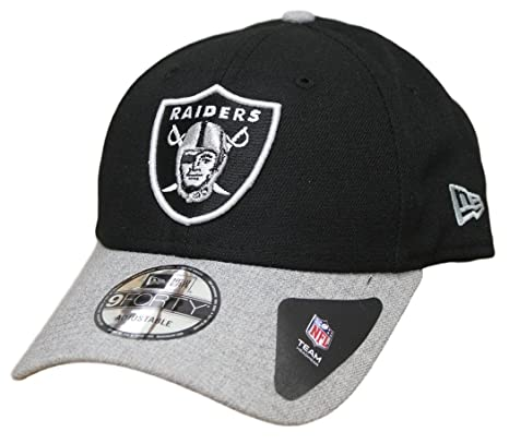 a71a2238e58 Image Unavailable. Image not available for. Color  New Era Oakland Raiders  9Forty NFL ...