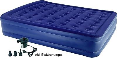Wehncke ECO Doppel Luftbett mit elektrischer Pumpe