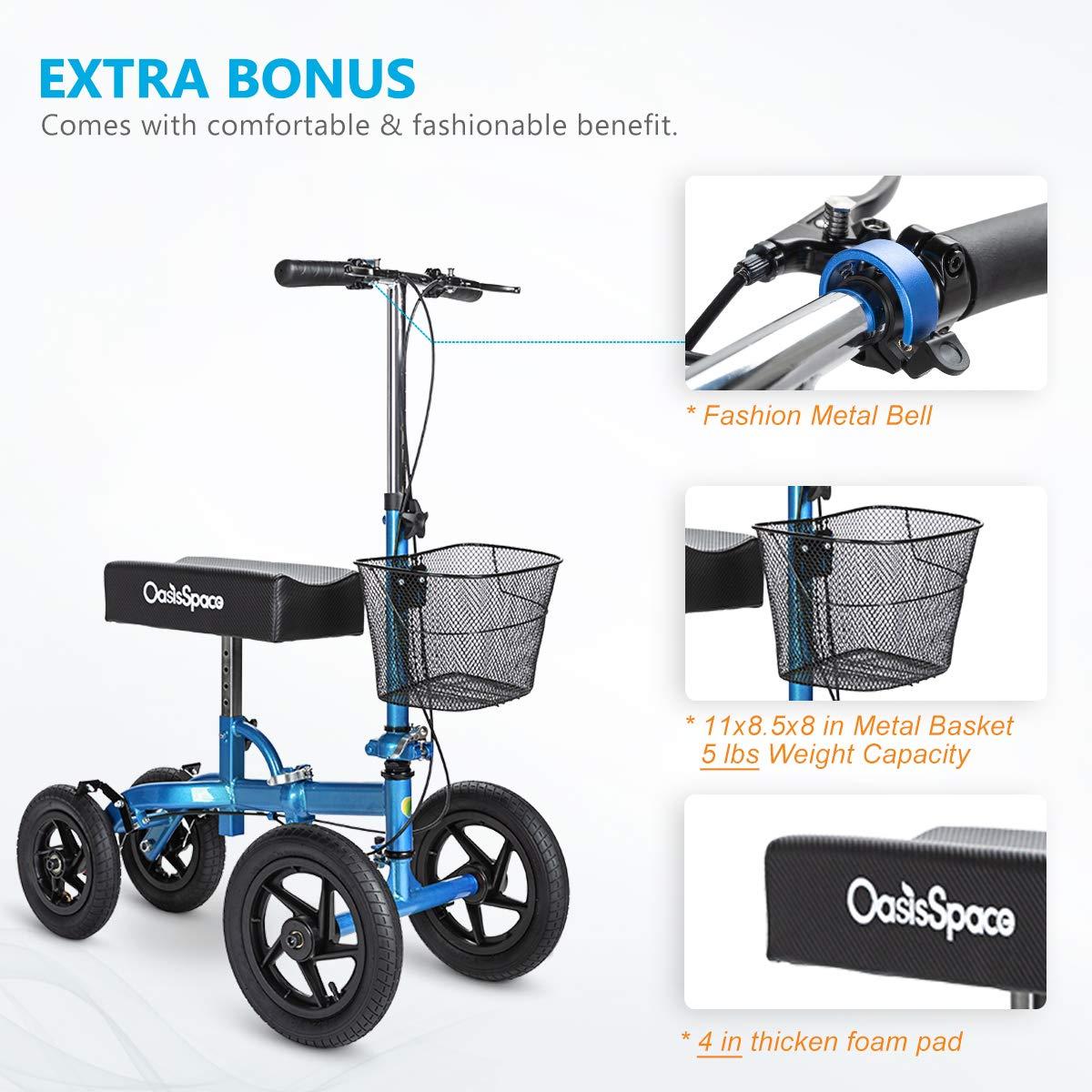 Amazon.com: OasisSpace - Rodillera para todo terreno con ...