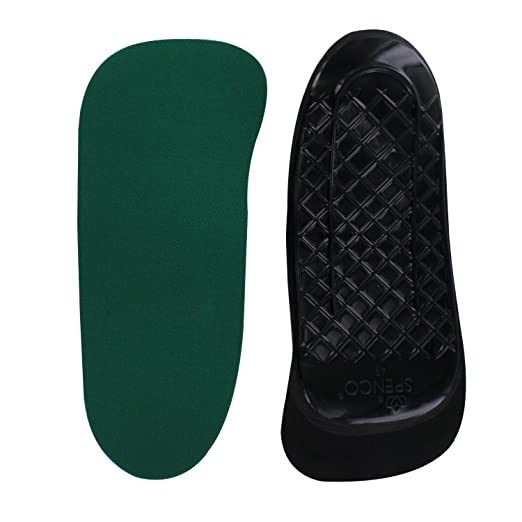 Spenco Rx Orthotic Arch Support 3/4 Length Shoe Insoles, Women's 11-12.5/Men's 10-11.5 best plantar fasciitis remedies